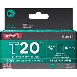 Arrow T20 Staples - 10mm (1000)